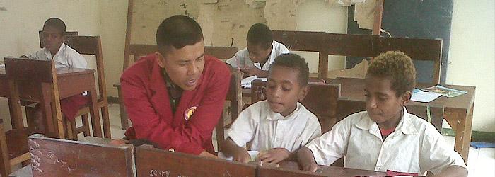 Pengambdian Mahasiswa STMIK TASIKMALAYA Kepada Masyarakat Irian Jaya