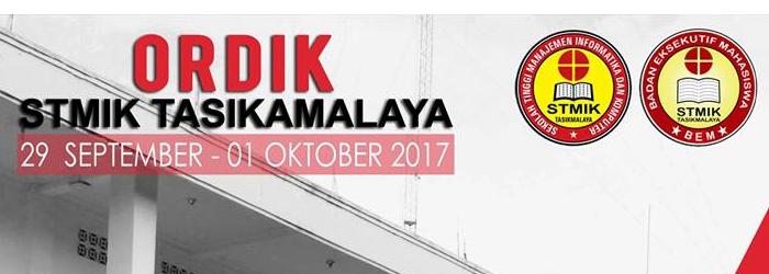 ORDIK STMIK TASIKMALAYA 2017