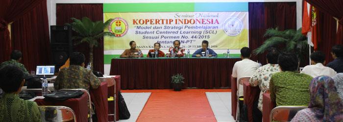 Musyawarah Nasional dan Seminar Nasional KOPERTIP INDONESIA